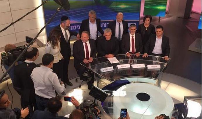 עימות הבחירות באולפן ערוץ 2