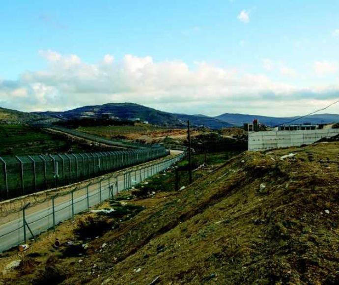 קו הגבול עם סוריה