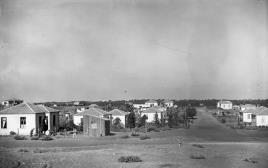 שכונת בורוכוב בגבעתיים ב-1926