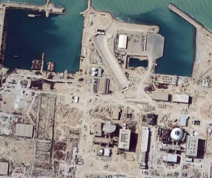 צילום לוויין של מתקן גרעיני באיראן