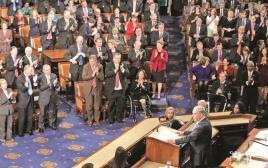 נתניהו נואם בקונגרס