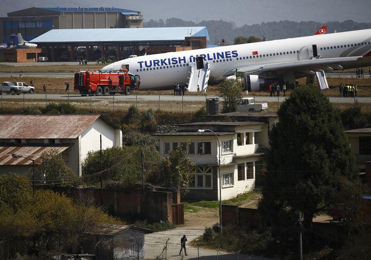 מטוס טורקיש איירליינס שהתרסק בנפאל