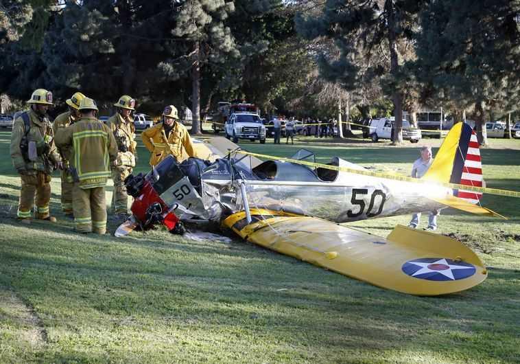 מטוסו של האריסון פורד
