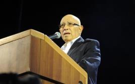 מאיר דגן בעצרת בכיכר רבין
