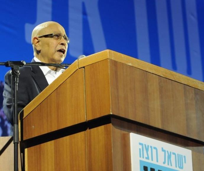 """מאיר דגן בעצרת """"ישראל רוצה שינוי"""""""