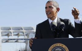 הנשיא אובמה נואם בסלמה