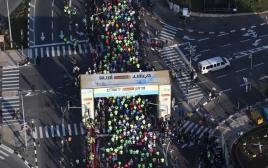 מרתון ירושלים ממבט על