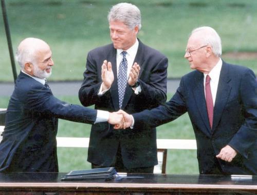 היחס המזלזל להסכם השלום עם ירדן מקומם   מעריב
