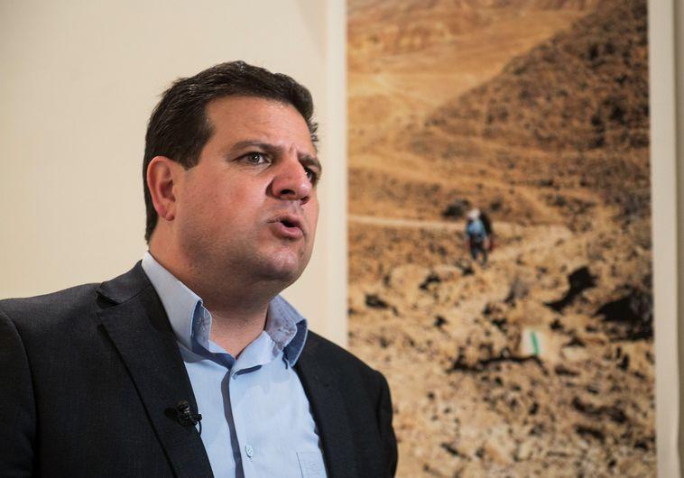חבר הכנסת איימן עודה. צילום: דניאל שטרית