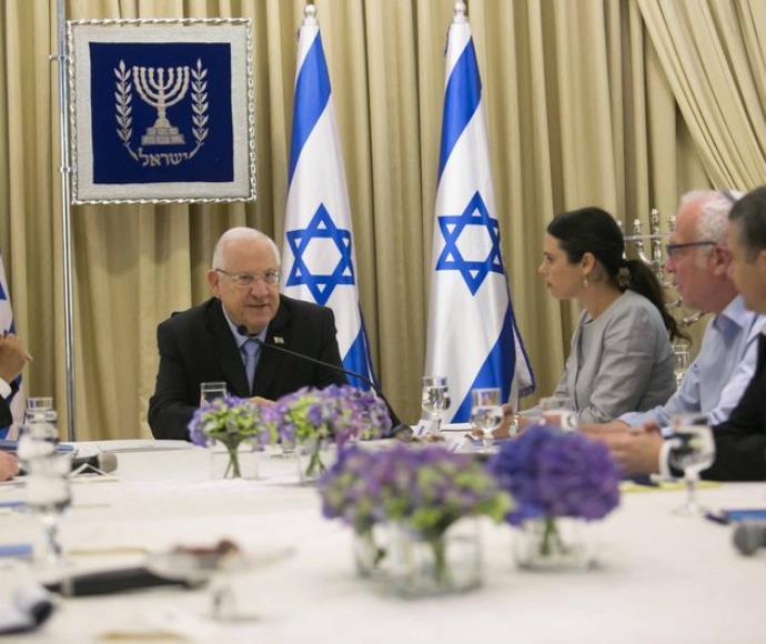 נציגי הבית היהודי נפגשים עם ריבלין