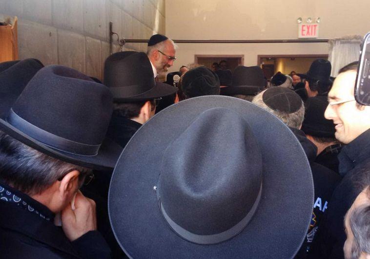 הקהילה בברוקלין (צילום: ללא)