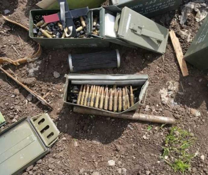 """תחמושת שהושארה בשטח לאחר אימון בצה""""ל"""