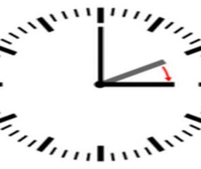 המחשה של שעון קיץ
