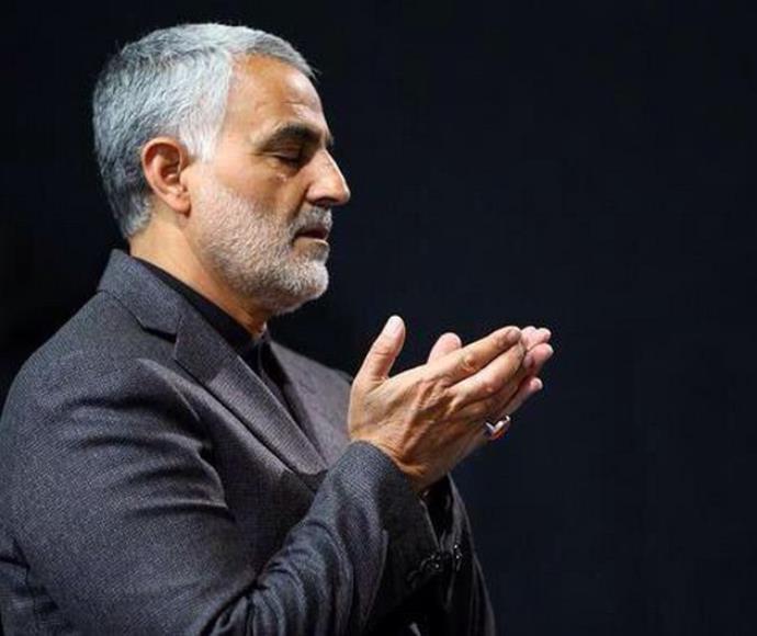 הגנרל האיראני קאסם סולימאני, מפקד כח אל-קודס במשמרות המהפכה