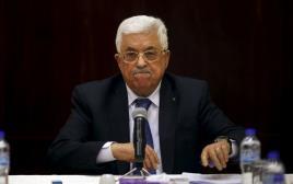 """אבו מאזן, יו""""ר הרשות הפלסטינית"""