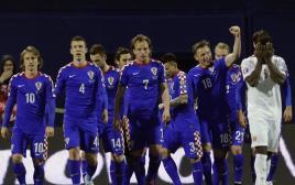 נבחרת קרואטיה מול נורבגיה במוקדמות היורו