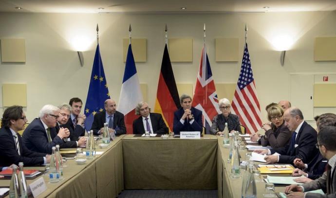 שיחות הגרעין עם איראן בלוזאן
