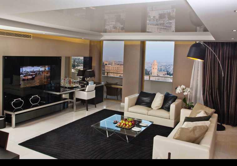 חדר רחצה בסוויטה מלון לאונרדו פלאזה ירושלים
