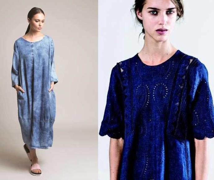 מימין: שמלה, Vanessa Bruno לנומרו 13 , 1,650 שקל. משמאל: שמלה, אלמביקה, 989 שקל