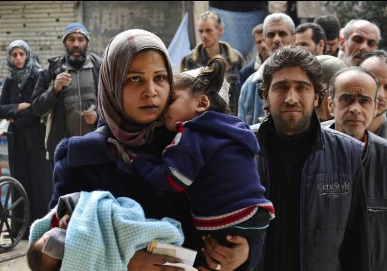 פליטים ממחנה הפליטים בירמוק
