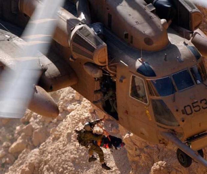 חילוץ של יחידת 669 במצוקי דרגות באמצעות מסוק יסעור