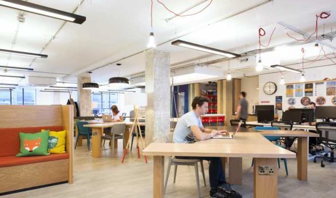 חלל העבודה של Central Working