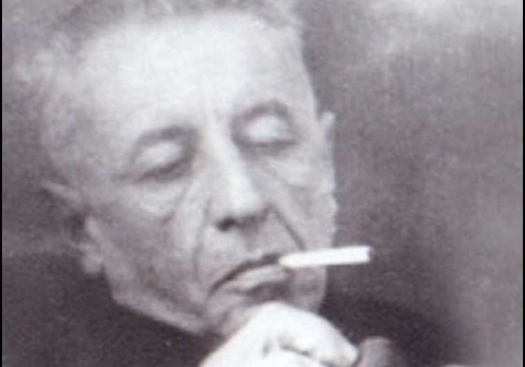 """נתן אלתרמן. היה חלק מקבוצת הסופרים והמשוררים """"יחדיו"""" שבה השתלבה גולדברג. צילום: המוזיאון העירוני כפ""""ס"""