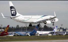 """מטוס של """"אלסקה אירליינס"""""""
