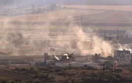 זיהום אוויר מעל מפרץ חיפה
