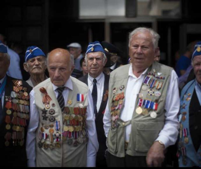וטרנים יהודים של מלחמת העולם ה-2