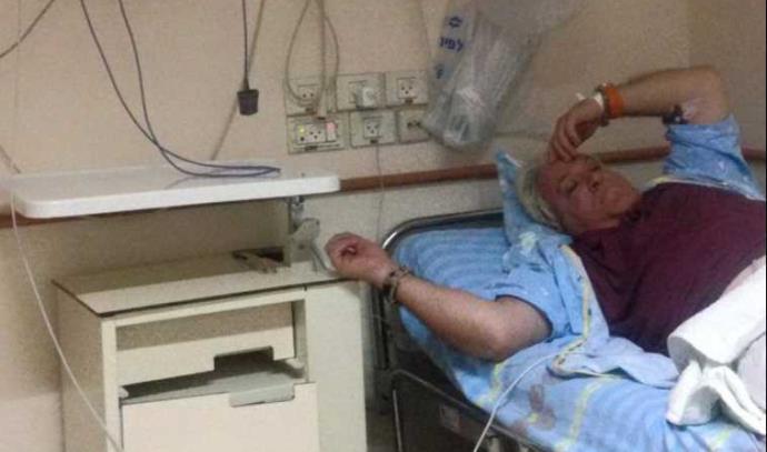 רוני מיילי מאושפז בבית החולים