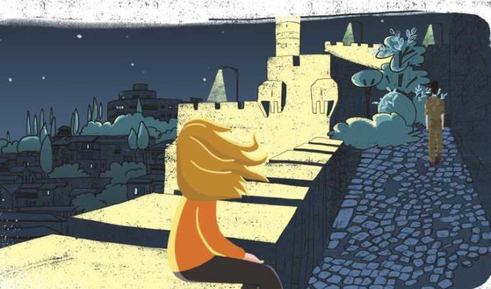 """מתוך סרטון האנימציה """"בליבה חומה"""" לזכרו של יובל היימן ז""""ל"""