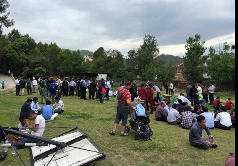 משפחות ישראליות שנמצאות בנפאל
