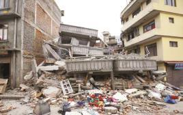 רעידת האדמה, נפאל