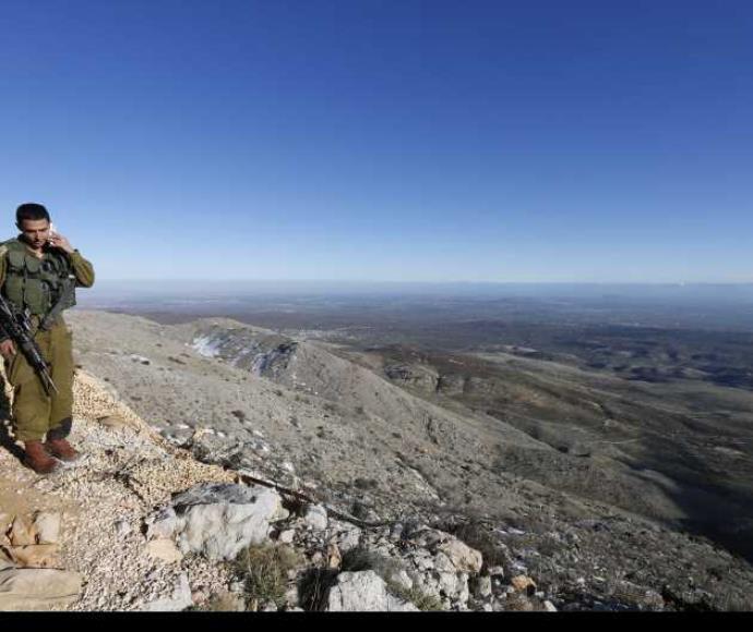 גבול ישראל-סוריה באזור החרמון