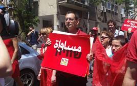 דב חנין בעצרת 1 במאי