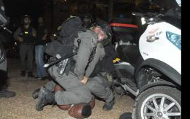 עימותים בתל אביב