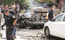 ניסיון חיסול ופיצוץ במכונית בגבעתיים