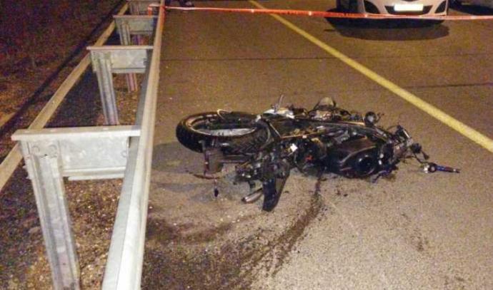 תאונת אופנוע בצומת מגידו
