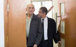 אולמרט במשפט פרשת טלנסקי