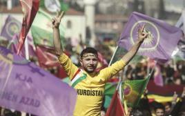 חגיגות השנה הכורדית החדשה, במרץ האחרון באיסטנבול
