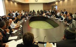 ישיבת הוועדה המסדרת
