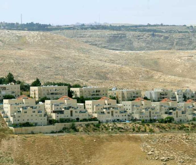 בנייה ביהודה ושומרון