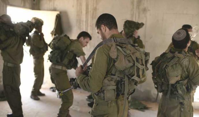 """חיילים של צה""""ל מבצע צוק איתן, ארכיון"""