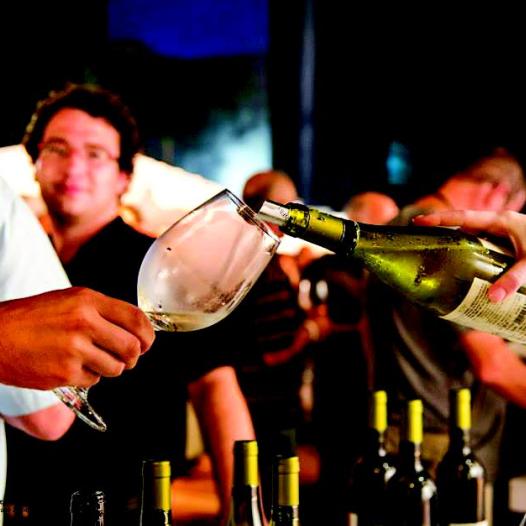 פסטיבל יין לבן במרינה בהרצליה (צילום: אייל גוטמן)