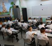 תלמידים חרדים בכיתה