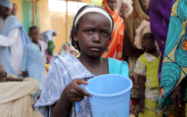ילדה בניגריה