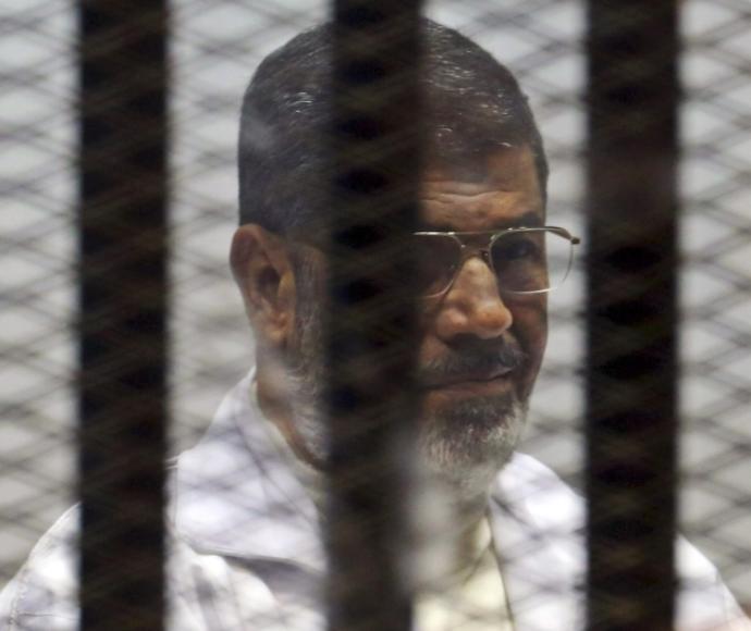 נשיא מצרים לשעבר מוחמד מורסי בכלא