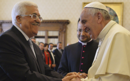 האפיפיור פרנציסקוס נפגש עם אבו מאזן בוותיקן
