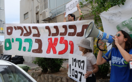 הפגנת פעילי מגמה ירוקה בירושלים